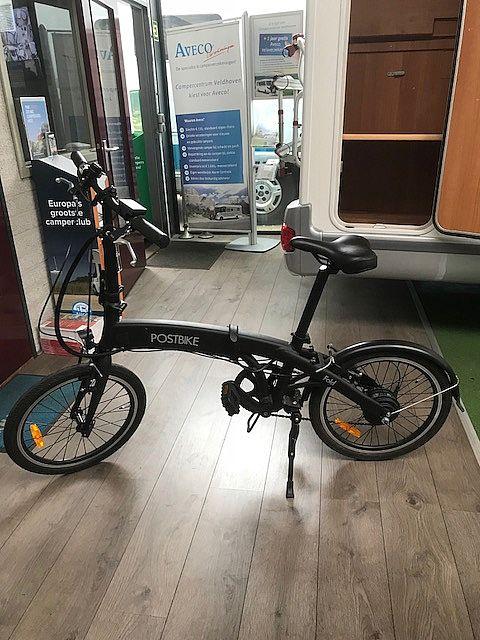 electrische vouw fiets